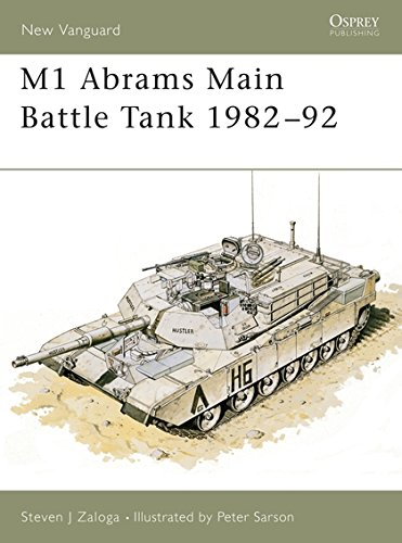 M1 Abrams Main Battle Tank 198292 (New Vanguard)