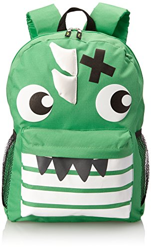 Skr Club Green Monster Backpack, Green, One Size