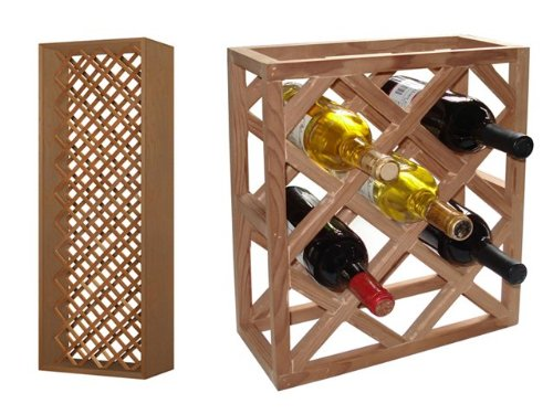 Individual Diamond Rack (Vinotemp VNTVT-INDVDIAMOND Rack-G1 Individual Diamond Rack,)