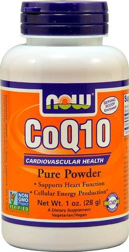 NOW Foods CoQ10 Pure Powder -- 1 oz - 3PC