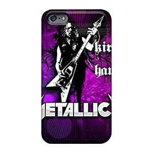 Excellent Design Metallica Band Phone Case For Iphone 6plus Premium Tpu Case