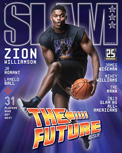 Issue Slam Magazine - Slam Magazine (July/August, 2019) Zion Williamson Cover