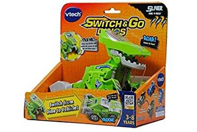 9 X VTech Switch & Go Dinos - Sliver the T-Rex Dinosaur