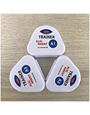 3 Pieces Tooth Orthodontic Appliance Trainer, Three Stages Professional Dental Guard for Adult, Help Correct Misaligned Teeth and Stops Bruxism