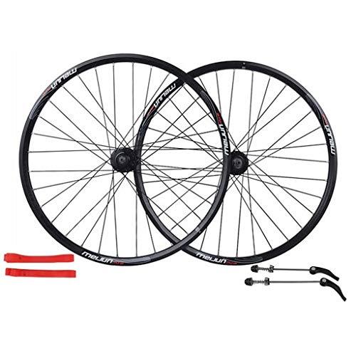 ZNND 26 Inch Bike Wheelset, Cycling Wheels Mountain Bike Disc Brake Wheel Set Quick Release Palin Bearing 7/8/9/10 Speed (Color : C, Size : 26INCH) ()