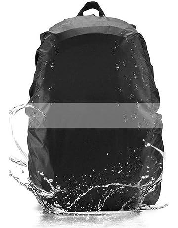 Domserv Cubierta Impermeable para Mochila Funda Mochila Impermeable 35L Nylon Mochila Protector De Lluvia Impermeable con
