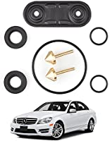 W170 W221 W220 Heater Valve Repair Kit Compatible with Mercedes-Benz Cars W208 W215 W202 W210 Set of Heater Repair Parts for Self-Repair W124