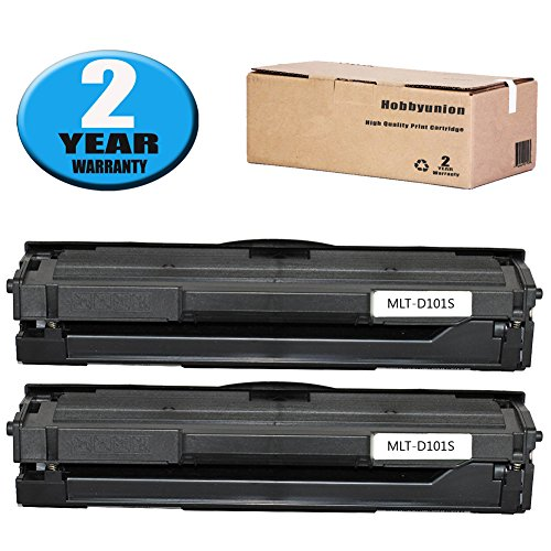 Discount Hobbyunion MLT-D101S Toner Cartridge Black Replacement for Samsung SCX-3400 SCX-3401 SCX-3401FH SCX-3406W SCX-3406HW ML-2160 ML-2161 ML-2162 ML-2165 ML-2166, 3 Pack