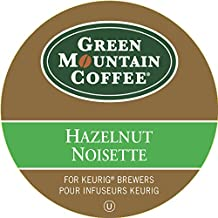 Green Mountain Coffee Hazelnut K-Cup Pod, 18 Count