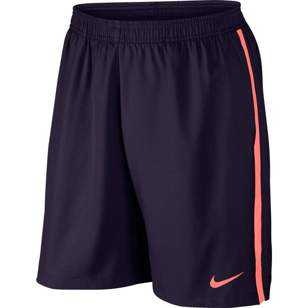Nike Court 9'' Shorts (Purple Dynasty/Bright Mango/Bright Mango, X-Small)