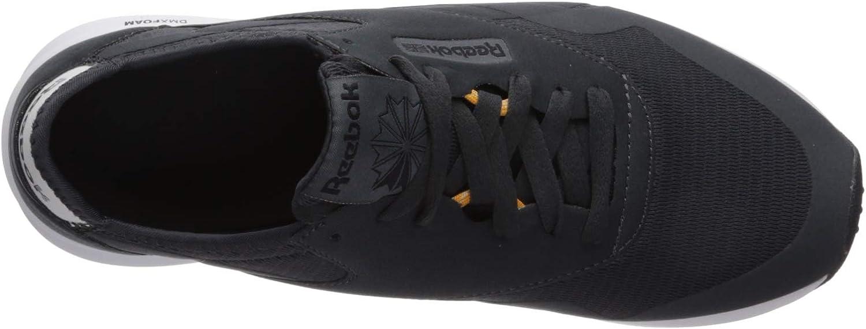 Reebok Classic Nylon, Sneakers Basses Homme True Grey Light Sand Gold White