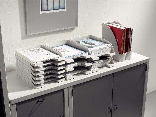 24760085 Plus Leitz Portariviste Grigio A4 Polistirene Archivio Ufficio E Accessori Per Scrivania Cancelleria E Prodotti Per Ufficio