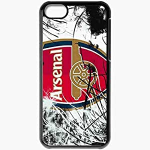 Personalized iPhone 5C Cell phone Case/Cover Skin Arsenal Cesc Fabregas Arsenal Football Black