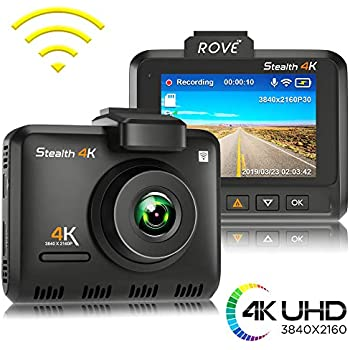 G-Sensor Car Dashboard Camera Recorder Parking Mode for Vehicle Truck etc 150/°Wide Angle G-Sensor Novatek Chip 4K Dash Cam Loop Recording Built-in WiFi GPS Iseebiz XQ-CEA-0158