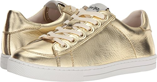 Coach Women's C126 Low Top Sneaker Gold Metallic Leather 5 M ()