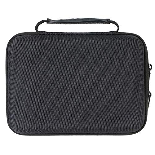 Khanka Hard Travel Case Compatible with APEMAN NM4 Mini Portable Projector, Video DLP Pocket Projector