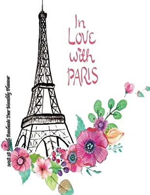 in love paris month academic year monthly planner