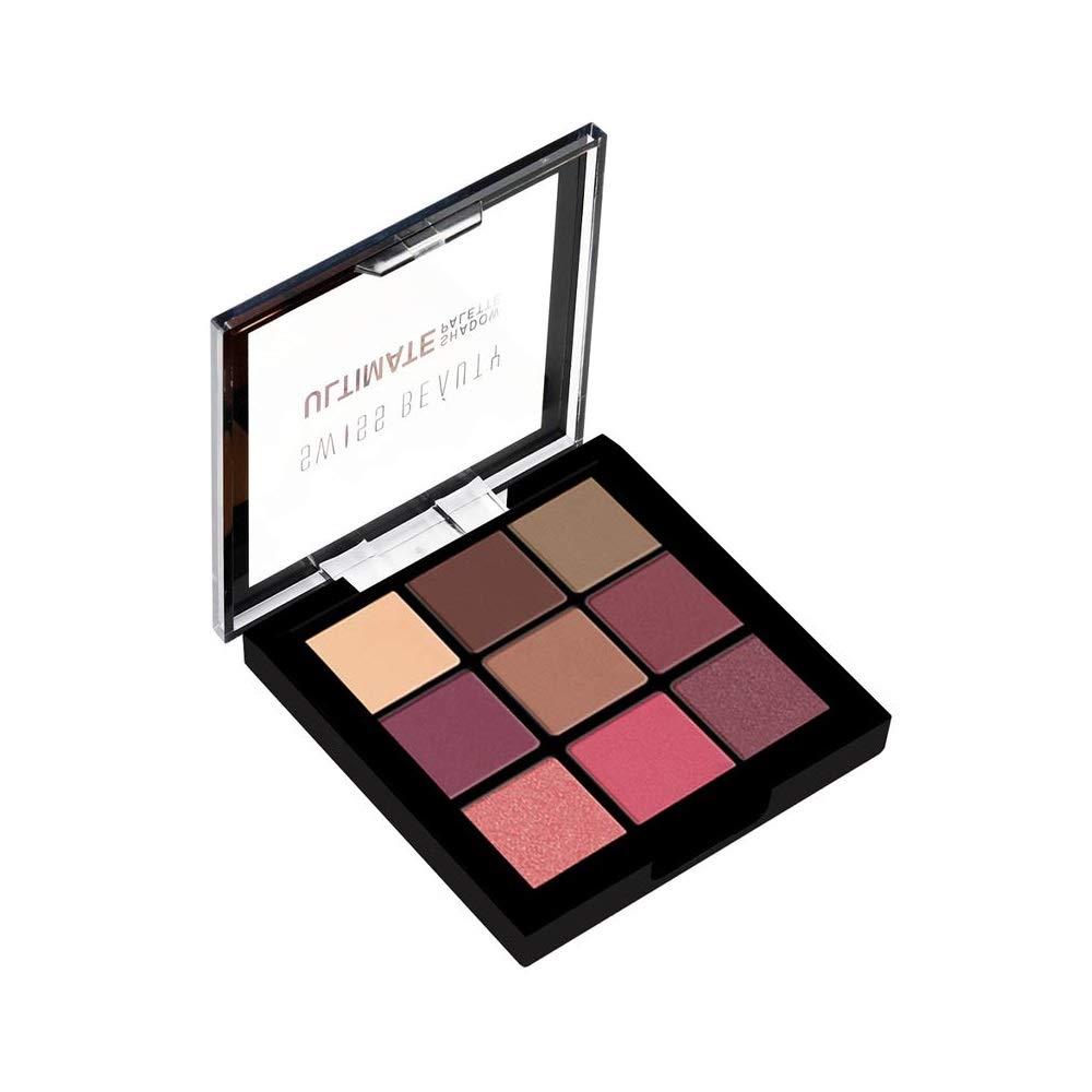 Swiss Beauty Ultimate 9 Color Eyeshadow Palette, Eye MakeUp, Multicolor
