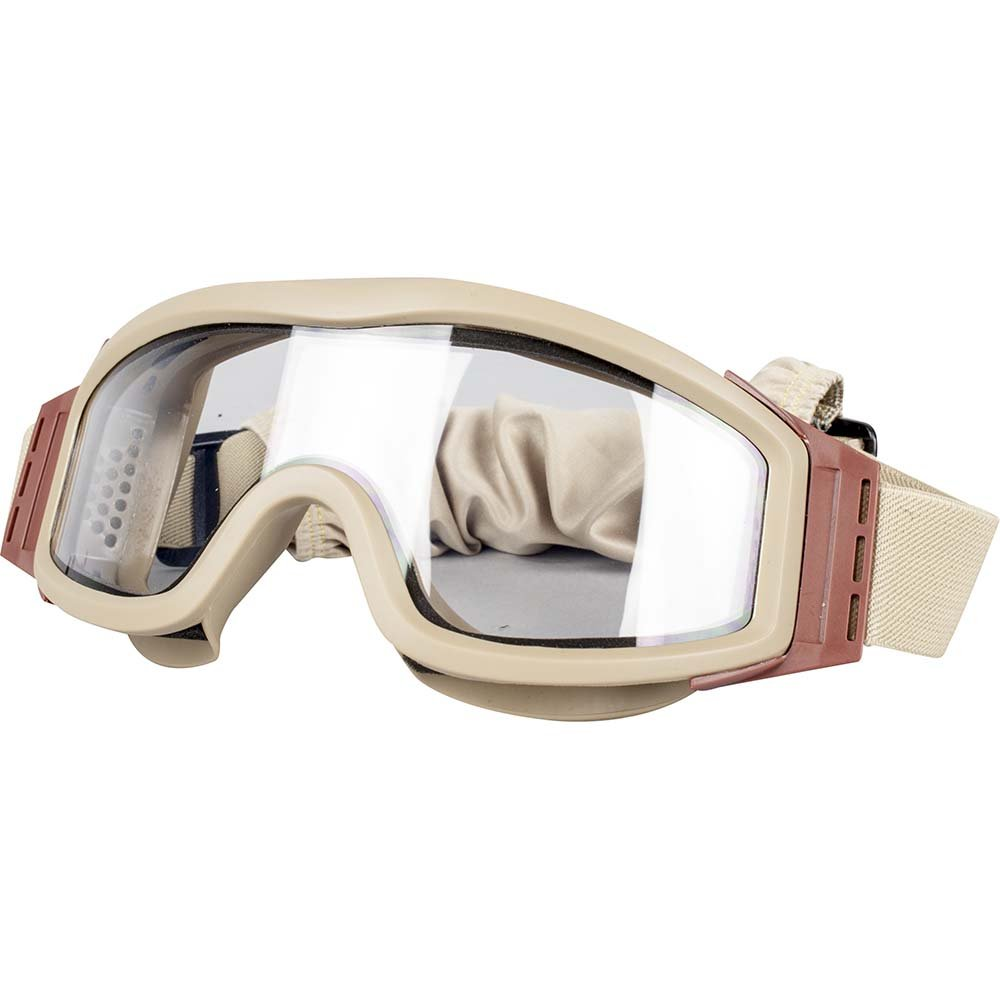 with 3 Lenses Tan Frame Valken Airsoft Tango Thermal Lens Goggles