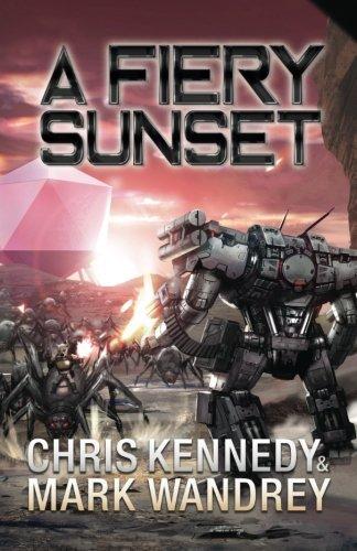 A Fiery Sunset (The Omega War) (Volume 1)
