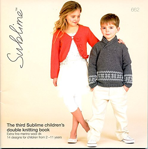 The Third Sublime Children's Double Knitting Book 662 by Sublime