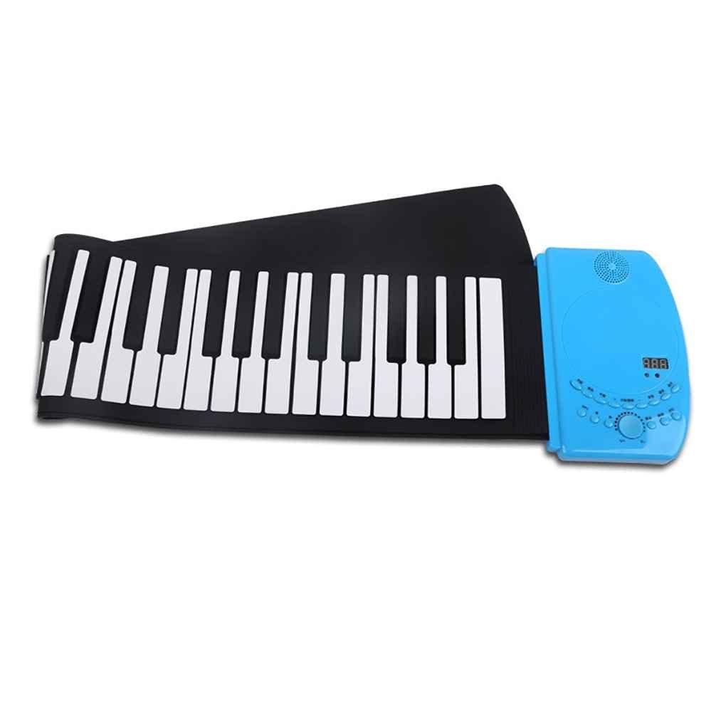 Elenxs 61 teclas de piano teclado USB MIDI instrumento musical electrónico para Niños: Amazon.es: Instrumentos musicales