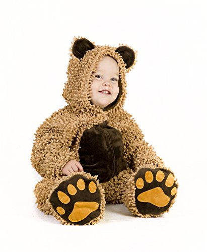 Princess Paradise Baby's Chenille Teddy Bear, Brown, 6 to 12 Months -