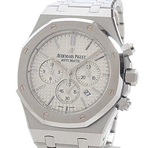[オーデマピゲ]AUDEMARS PIGUET 腕時計 ロイヤルオーククロノ 26320ST.OO.1220ST.02 中古[1293766]ホワイト 付属:国際保証書 B07CB7P967