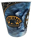 """NHL Boston Bruins Hologram 10"""" Trash Can Waste Basket"""