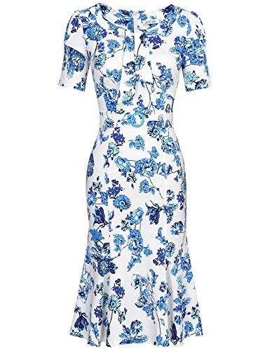 1960s Floral Dress - 8