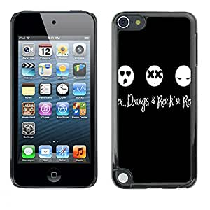 - Sexy Sex Funny Kidding - - Fashion Dream Catcher Design Hard Plastic Protective Case Cover FOR Apple iPod Touch 5 Retro Candy