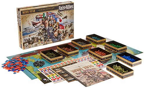 Axis and Allies 1914 World War I Board Game (Axis And Miniatures Allies)