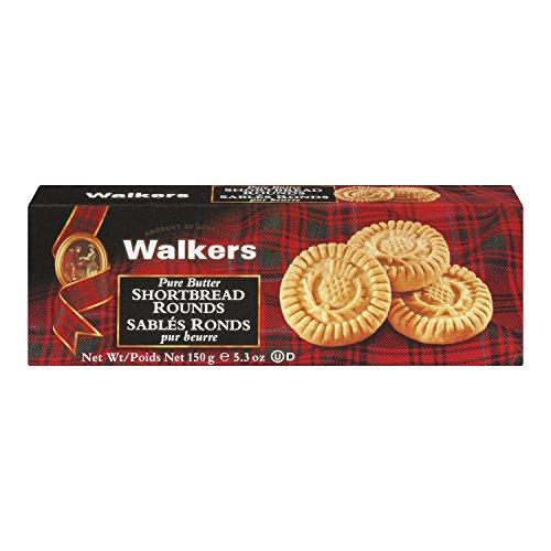 WALKERS: Pure Butter Shortbread Rounds, 5.3 oz