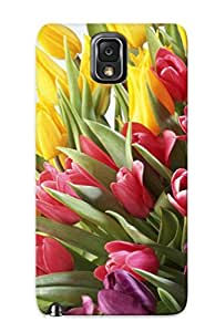 Exultantor Kuhwkw-3657-qeqbeft Case Cover Galaxy Note 3 Protective Case Tulips( Best Gift For Friends)