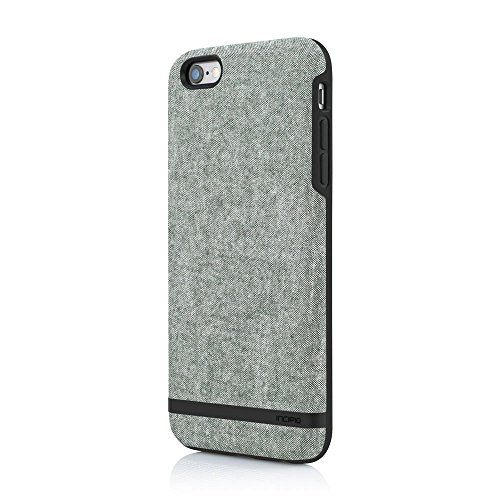 Incipio Leather - Incipio iPhone 6 Plus/iPhone 6s Plus case, Cotton, [Esquire Series] Co-Molded, Shock-Absorbing Cover - Olive
