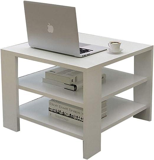 YYQXLZ Mesa de sofá Moderna Mesa Auxiliar de café para Sala de ...