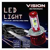 Vision VLKH7 COB Low Beam LED Headlight Conversion Kit (H7 30w 3,000Lm 6000k/8000k)