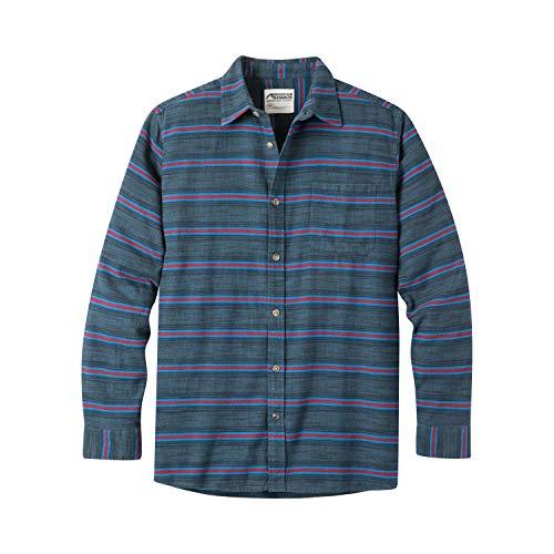 Mountain Khakis Mens Lundy Flannel Shirt, Twilight, XX-Large (Oz 5 Shirt Flannel)