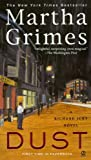 Front cover for the book Dust by Martha Grimes