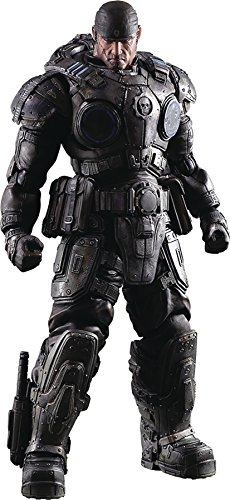 Flawed Box Gears of War Marcus Fenix Play Arts Kai Action Fi