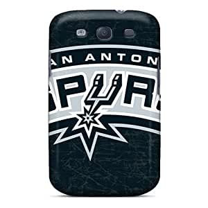 Protector Hard Cell-phone Cases For Samsung Galaxy S3 With Provide Private Custom Lifelike San Antonio Spurs Skin DannyLCHEUNG