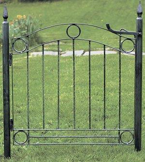 Country Cottage Garden Gate - Wrought Iron Garden Gate