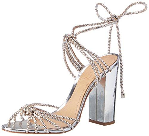 Cheville Sandales Femme 01480088 Schutz Argenté Prata Bride S2 prata BI7fwq1