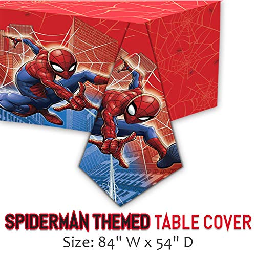 BANNER CENTERPIECES LOOT BAGS STRAWS MARVEL SPIDER-MAN BIRTHDAY PARTY SUPPLIES