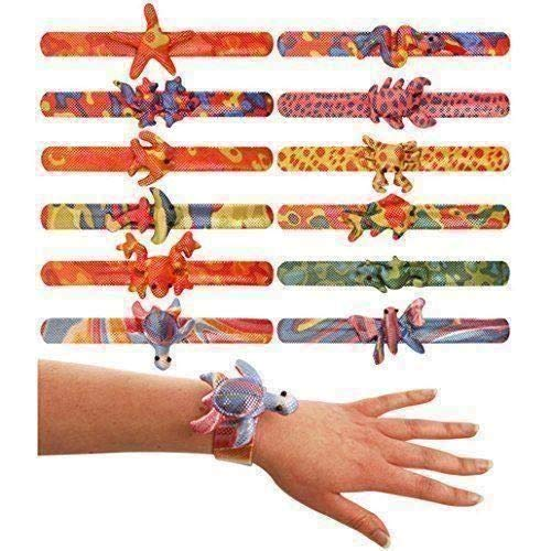 Henbrandt 24 Assorted Bracelet Snap Animals