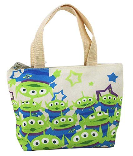 Canvas Mini Tote (Disney Pixar's Toy Story Claw Machine Aliens Mini Canvas Tote Bag)