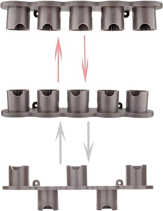 A-life - Juego de 5 Soportes de Almacenamiento para cepillos de aspiradora Dyson V7 V8 V10: Amazon.es: Hogar