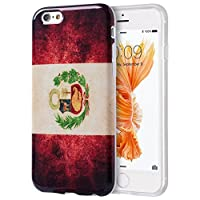 Dream Wireless-TIIP6S-PTF-PER-Patriotic Vintage Flag Series TPU Case for iPhone 6 and 6S