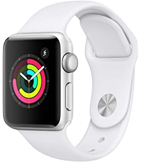 6659cab92 Apple Watch Series 4-40mm Space Silver Aluminum Case with White ...