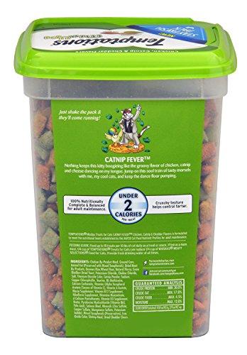TEMPTATIONS MixUps Treats for Cats CATNIP FEVER Flavor 16 Ounces